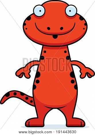 Surprised Cartoon Salamander