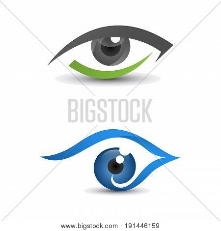 Healthy eyes, and for clear sight. good for modern company