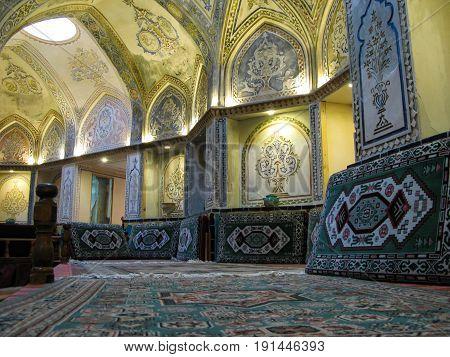 Interior view of Sultan Amir Ahmad Bathhouse - 21-02-2009 Kashan Iran