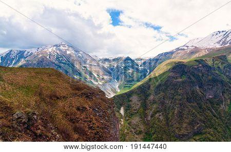 Beautiful mountains in Georgia. Republic of Georgia