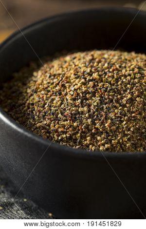 Dry Organic Mixed Ground Pepper Blend