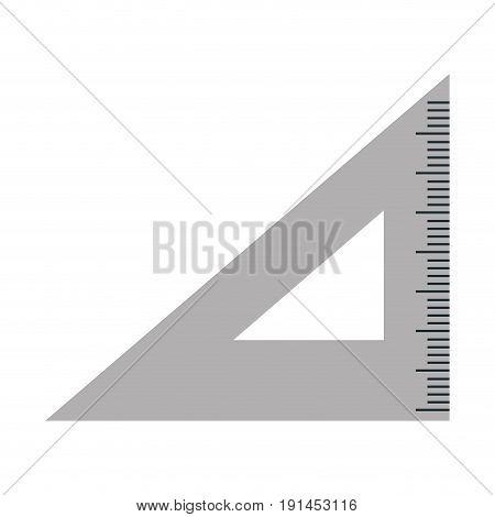 rule school isolated icon vector illustration design