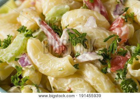 Yummy Homemade Macaroni Salad