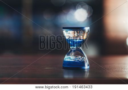 A Water-clock As Hourglass