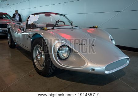 STUTTGART GERMANY - MARCH 02 2017: Roadster Colani GT 1964. Europe's greatest classic car exhibition