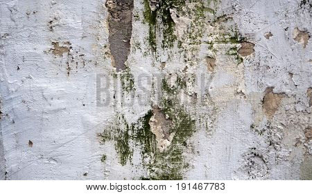 Wall with come off paint. Background and textures photography.