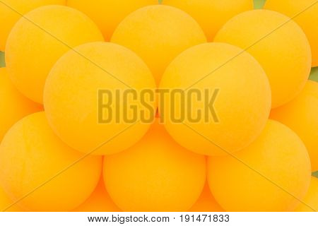 Yellow Tennis Balls Sequentially Arranged, Abstract Background