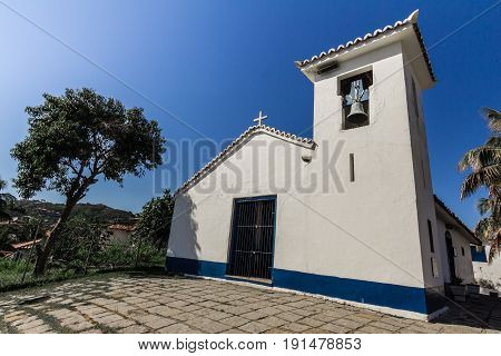 Buzios, Brazil - June 09 2017. Church In Buzios