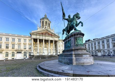 Royal Square - Brussels, Belgium