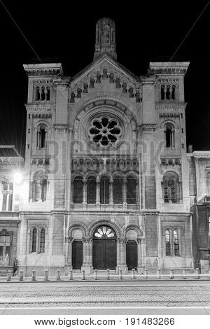 Synagogue Of Brussels
