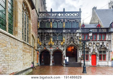 Basilica Of The Holy Blood - Bruges, Belgium