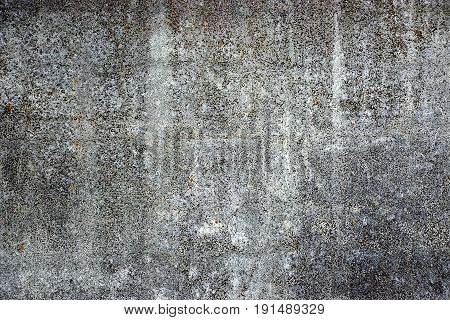 Gray black background from part of concrete wall of building