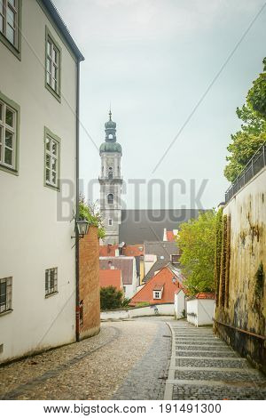 St Georges Church In Freising