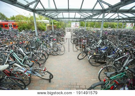 Bicycle Parking In Freising