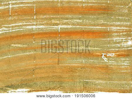 Hand-drawn abstract watercolor. Used colors: Aztec Gold Metallic Sunburst Bronze Vegas gold Dark khaki Burlywood University of California Gold Earth yellow Gold