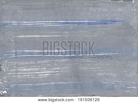Hand-drawn abstract watercolor. Used colors: Manatee Roman silver Metallic silver Spanish gray Cool grey Cadet grey Quick Silver Philippine silver White Slate gray