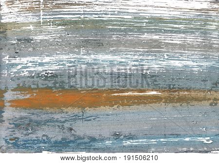 Hand-drawn abstract watercolor. Used colors: White Spanish gray Cadet grey Roman silver Quick Silver Manatee Metallic silver Morning blue Philippine gray AuroMetalSaurus