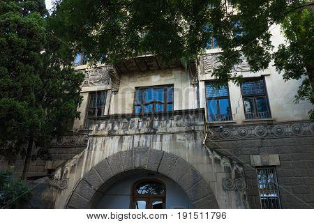 Old Tbilisi Architecture