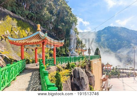 The scenic site of Chin Swee Caves Temple Genting Highland Malaysia. - The Chin Swee Caves Temple is situated in the most scenic site of Genting Highlands.