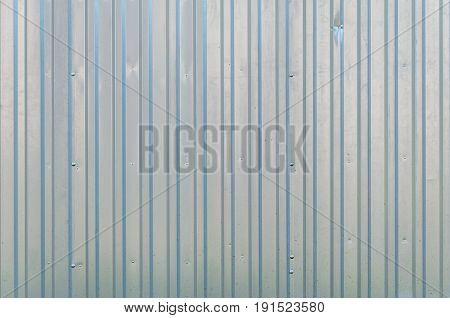 Abstract galvanized iron texture pattern background. Corrugated metal texture surface galvanized steel background
