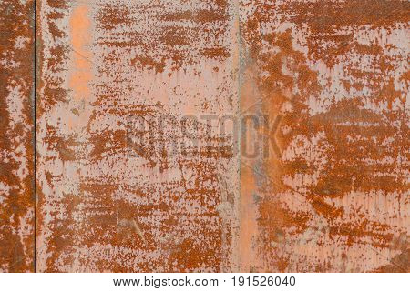 Old metal iron rust texture. Rusted metal sheets