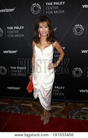 NEW YORK - MAY 17: Susan Lucci attends The Paley Honors: Celebrating Women in Television at Cipriani Wall Street on May 17, 2017 in New York City.