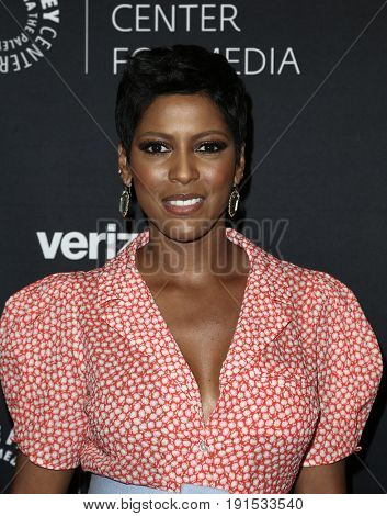 NEW YORK - MAY 17: Tamron Hall attends The Paley Honors: Celebrating Women in Television at Cipriani Wall Street on May 17, 2017 in New York City.