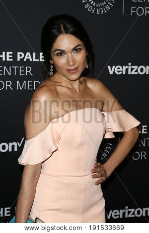 NEW YORK - MAY 17: Lela Loren attends The Paley Honors: Celebrating Women in Television at Cipriani Wall Street on May 17, 2017 in New York City.