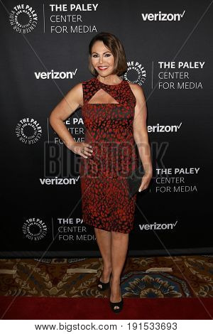 NEW YORK - MAY 17: Maria Elena Salinas attends The Paley Honors: Celebrating Women in Television at Cipriani Wall Street on May 17, 2017 in New York City.