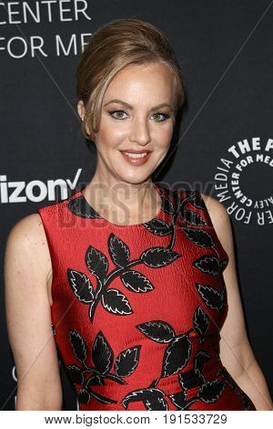 NEW YORK - MAY 17: Wendi McLendon-Covey attends The Paley Honors: Celebrating Women in Television at Cipriani Wall Street on May 17, 2017 in New York City.