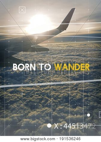Born To Wander Travel Journey Expedition
