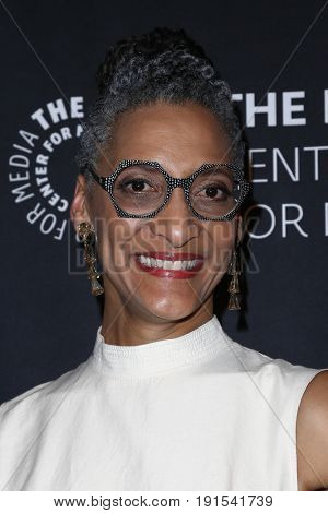 NEW YORK - MAY 17: Chef Carla Hall attends The Paley Honors: Celebrating Women in Television at Cipriani Wall Street on May 17, 2017 in New York City.