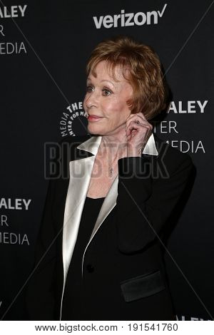 NEW YORK - MAY 17: Carol Burnett attends The Paley Honors: Celebrating Women in Television at Cipriani Wall Street on May 17, 2017 in New York City.