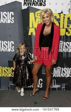 NASHVILLE, TN-JUN 07: Savannah Chrisley (R) and Dylan attend the 2017 CMT Music Awards at the Music City Center on June 7, 2017 in Nashville, Tennessee.
