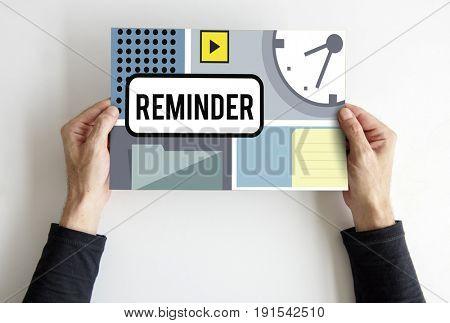 Organize Schedule Reminder Appointment Planner Graphic