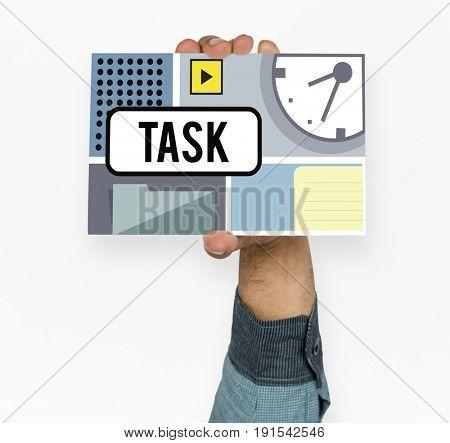 Deadline Task Priority Notification Reminder Graphic