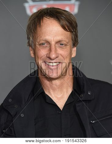 LOS ANGELES - JUN 10:  Tony Hawk arrives for the