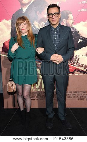 LOS ANGELES - JUN 14:  Natasha Lyonne and Fred Armisen arrives for the