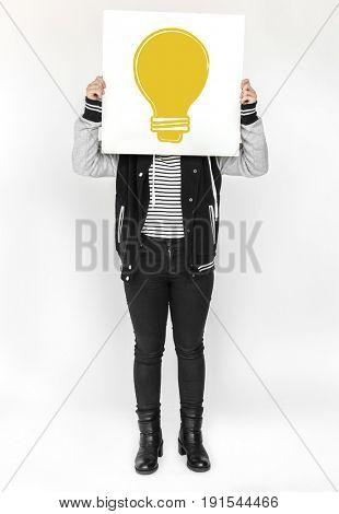 Idea thoughts vision design concept