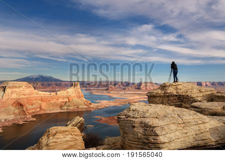 Alstrom Point, Lake Powell, Arizona - Utah
