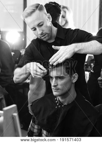 Joseph Abboud - Men Spring Summer 2017 Collection - Backstage
