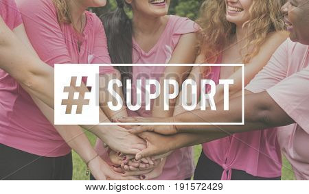 Support Cooperation Collaboration Hashtag