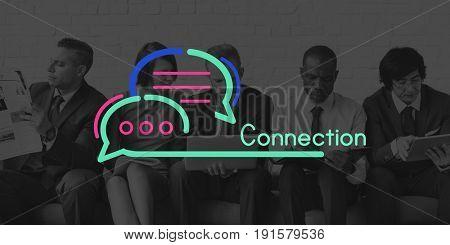 Communication Connection Speech Bubble Concept