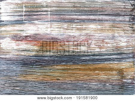 Hand-drawn abstract watercolor. Used colors: White Spanish gray Gray Roman silver Philippine gray Coyote brown Sonic silver Grullo Snow Manatee Nickel