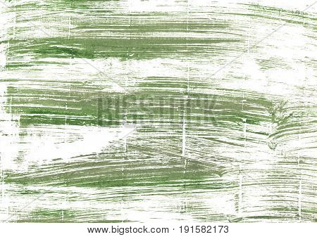 Hand-drawn abstract watercolor background. Used colors: White Camouflage green Baby powder Olivine Artichoke Asparagus Laurel green Moss green Lotion Milk