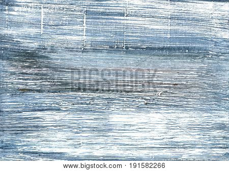 Hand-drawn abstract watercolor background. Used colors: White Pewter Blue Weldon Blue Wild blue yonder Shadow blue Alice blue Light slate gray Slate gray Cadet grey