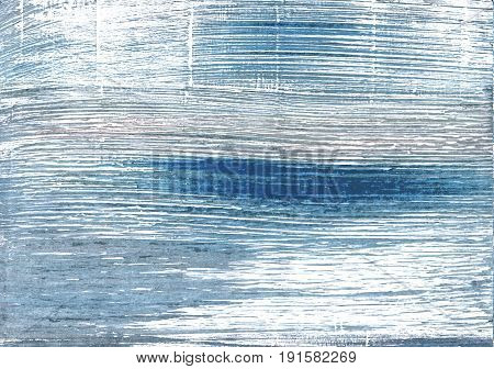 Hand-drawn abstract watercolor background. Used colors: White Pewter Blue Weldon Blue Azureish white Shadow blue Air Force blue Metallic blue Columbia Blue Wild blue yonder