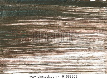 Hand-drawn abstract watercolor background. Used colors: Dark lava White Grullo Umber Pastel brown Black olive Rifle green Shadow Dark liver Beaver Pale taupe