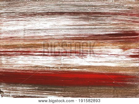 Hand-drawn abstract watercolor background. Used colors: White Light taupe Persian plum Milk chocolate Coffee Snow Liver Pale taupe Beaver Falu red Smokey Topaz