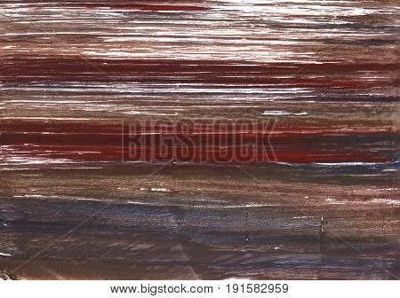 Hand-drawn abstract watercolor background. Used colors: Dark puce Acajou Dark liver Caput mortuum Rose ebony Wenge Deep Taupe Liver Temptress White Dark lava